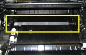 Lexmark T series transfer roller
