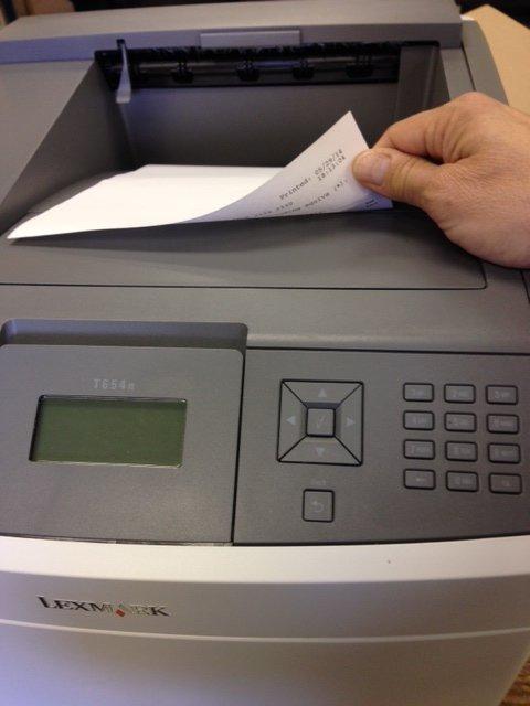 Lexmark T650 Pharmacy Label Printer